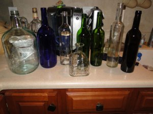 Bottles for Slumping