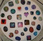 pendants and badge reels - last trip in the kiln