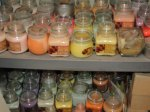 Candles ... just a few