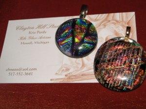 Simple dichro pendants