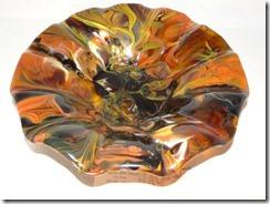 Shades of Amber Bowl