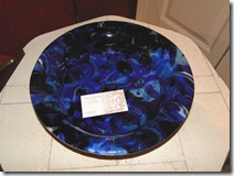 special request large blue bowl