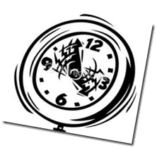 racing clock