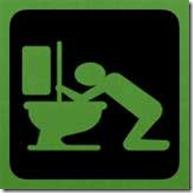 green vomit