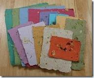 handmade papers