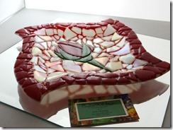 Mosaic Rose Platter