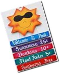 sunshine - pool