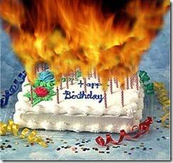 Birthday flames