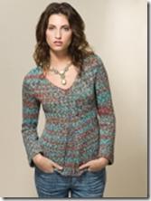 Radiant pullover Tahki yarns