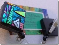Zentangle badge reel