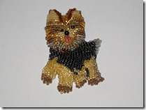 my Yorkie pin ... layer one