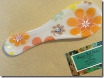Flower Power spoon rest