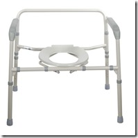 bedside commode without bucket