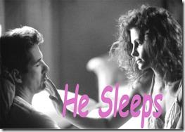 he-sleeps