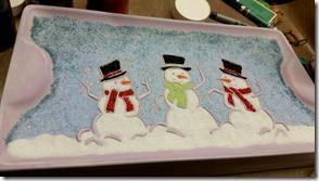 snowman-platter