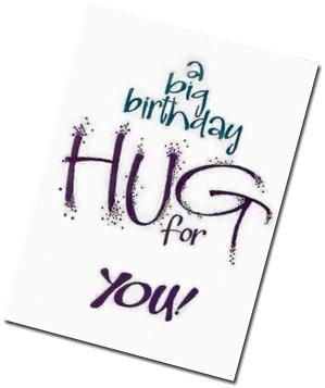 birthday hug