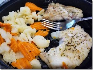 pollack-veggies