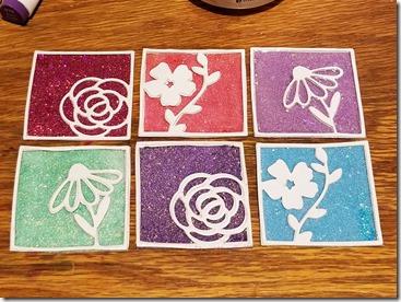 glitter-die-cut-flowers