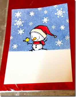 snowman-card-in-progress