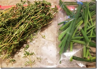 thyme-chives